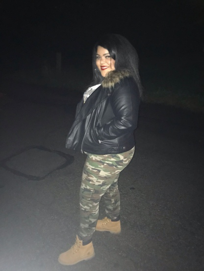 Camo Skinnies: Forever21+, Boots: Timberland